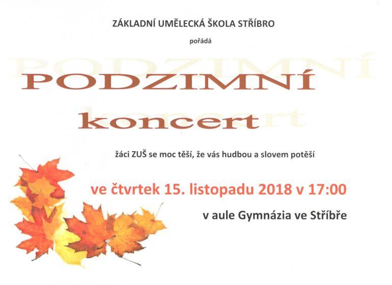 Podzimní koncert ZUŠ