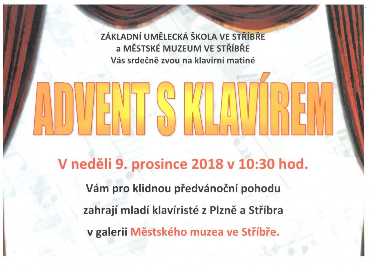 Advent sklavírem 2018