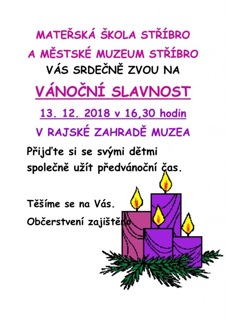 Vánoční slavnost