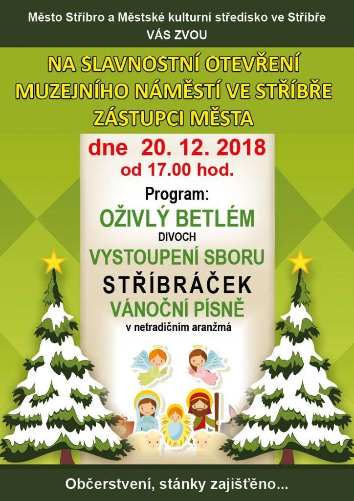 Slavnostní otevření muzejního náměstí veStříbře