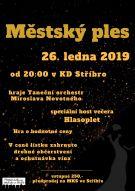 Městský ples 26. ledna 2019