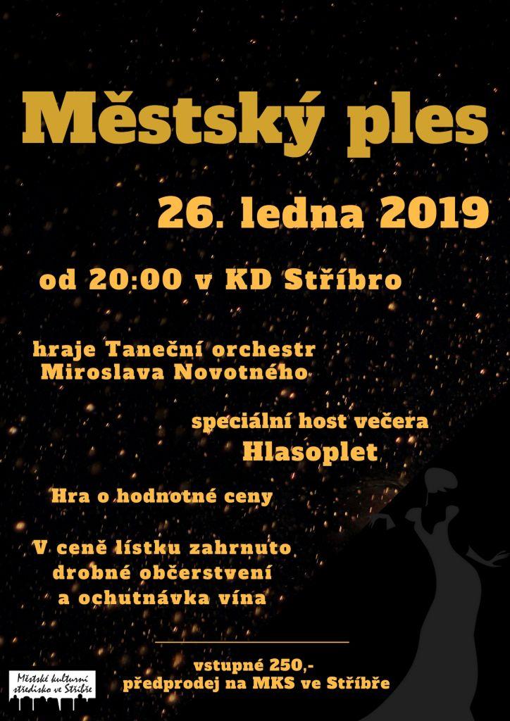 Městský ples 26.ledna 2019