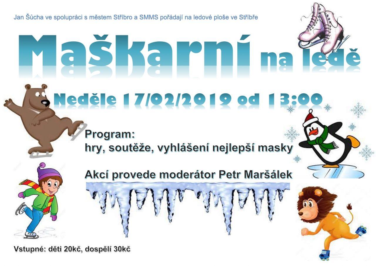 plakát Maškarní na ledě