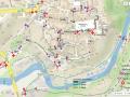Mapa značení